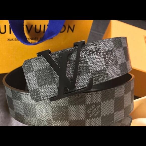 ec170348bbaa Authentic men s Louis Vuitton belt